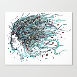 Flowing Dreams Canvas Print