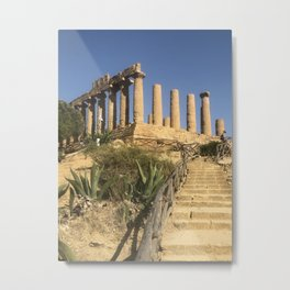 Juno's Temple - Agrigento's Temples Valley Metal Print