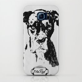 Mr Red's Dog iPhone Case