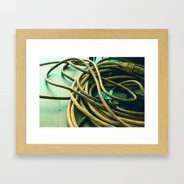 Cord Framed Art Print