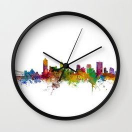 Memphis Tennessee Skyline Wall Clock