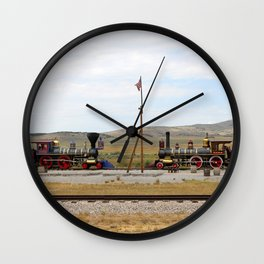 Red Vs Blue Wall Clock