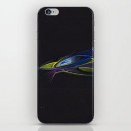 Gold Fisch iPhone Skin