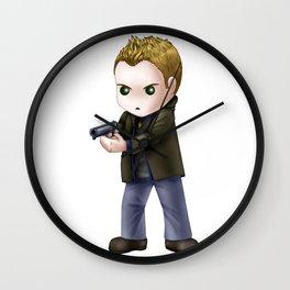Chibi Dean Winchester (White BG) Wall Clock