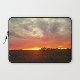 Chasing fire       (Curtain panel #2) Laptop Sleeve