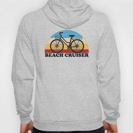 Beach Cruiser Bike Vintage Colors Hoody