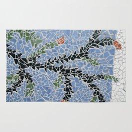 Totara Berry Mosaic Rug