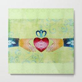 Colorful Inspirational Art - Friendship - Sharon Cummings Metal Print