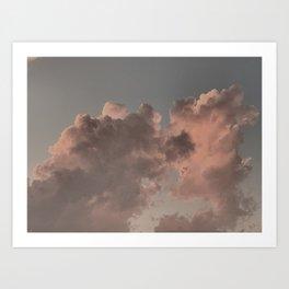 Billows Art Print