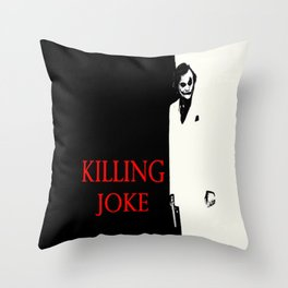 Killing Joke Throw Pillow