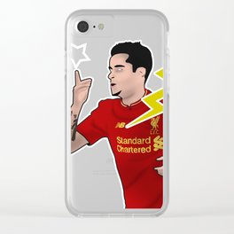 Coutinho Clear iPhone Case