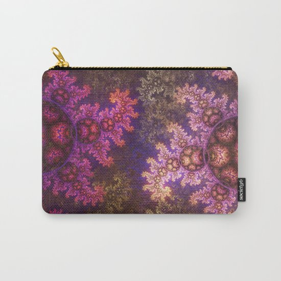 Dragon spirals ans Spheres in autumn colors Carry-All Pouch