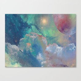 Out There Canvas Print