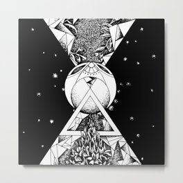 Balance in space Metal Print