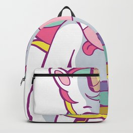Gamer Girl T-Shirt Unicorn Video Game Cute Womens Shirt Gift Backpack