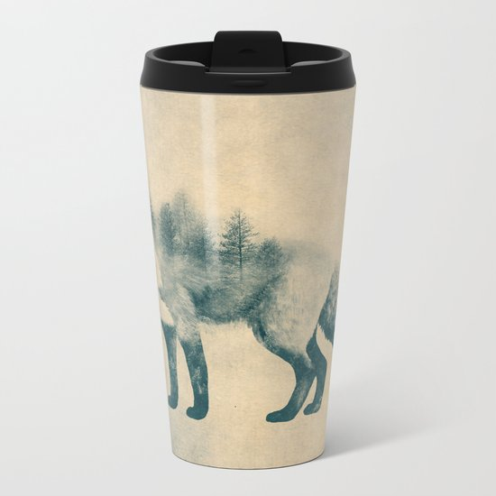 Fox and Forest - Shrinking Forest Metal Travel Mug