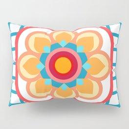 Scandi Candi Flower Pillow Sham