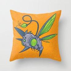 HUMM-BUZZ Throw Pillow