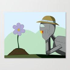 May Robot Canvas Print