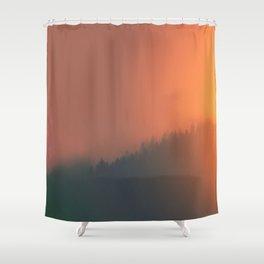 Dusk Dreaming Shower Curtain