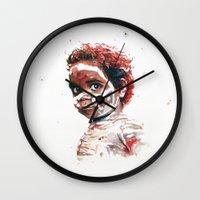 australia Wall Clocks featuring Australia by Cristian Blanxer