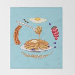 Pancake Mandala Throw Blanket