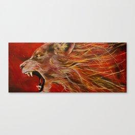 Hear Me Roar Canvas Print