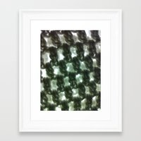 knit Framed Art Prints featuring Knit by Chrissy405
