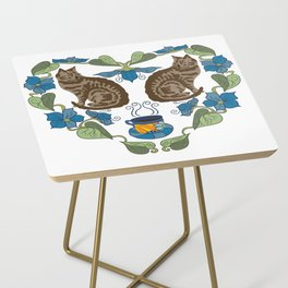 Coffee and Cats Side Table