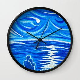 Stary Stary Love Wall Clock