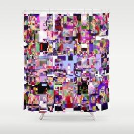 - minimal TV - Shower Curtain