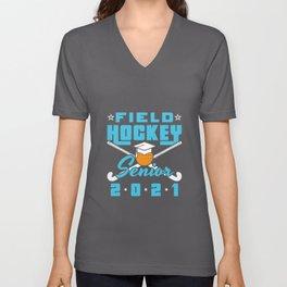 Field Hockey Senior 2021 Unisex V-Neck
