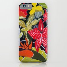 Paradise Flowers iPhone 6s Slim Case