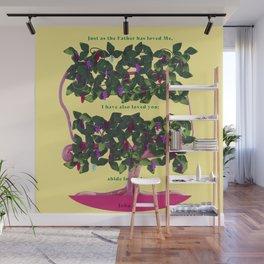 On the Grape Vine Wall Mural