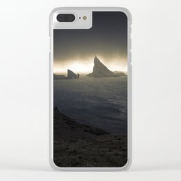 Line of Light Clear iPhone Case