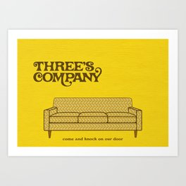 Come and Knock on Our Door... Art Print