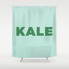 Kale  Shower Curtain
