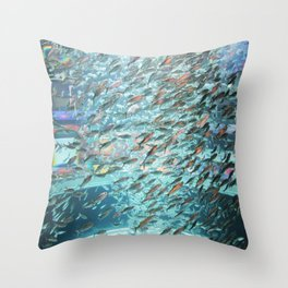 Typhoon Fish Throw Pillow