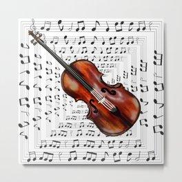 A soul like a violin string Metal Print