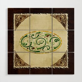 Celtic Old Traditional Tapestry Wood Wall Art