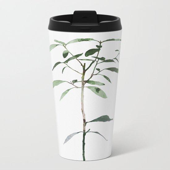 Avocado Tree Metal Travel Mug