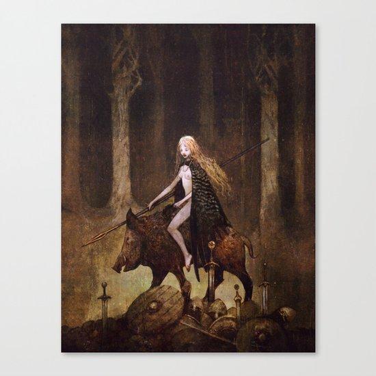 Freyja Canvas Print