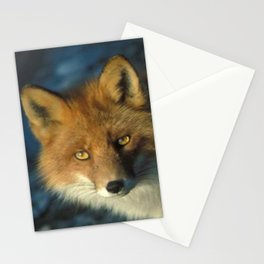 Red Fox in the Wild Stationery Cards