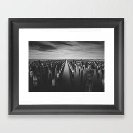 Port Melbourne Framed Art Print