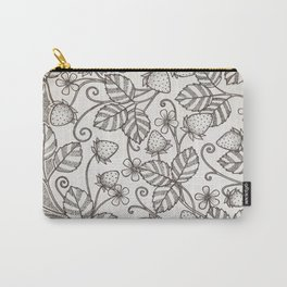 Strawberry pattern 2 Carry-All Pouch