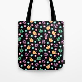 Freely Birds Flying - Fly Away Version 3 - Eclypse Color Tote Bag