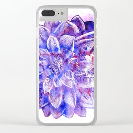 Flower V.1 Clear iPhone Case
