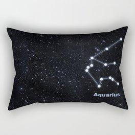 Aquarius star constellation Rectangular Pillow