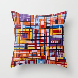 Concealed Mindfulness Throw Pillow