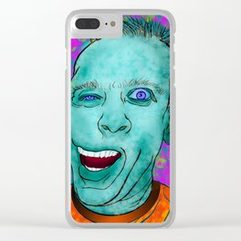Crazy Trip Clear iPhone Case